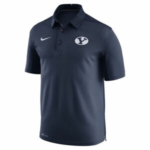 Limited Nike Dri-FIT NCAA 2017 BYU Cougars Performance Polo Shirt NWT