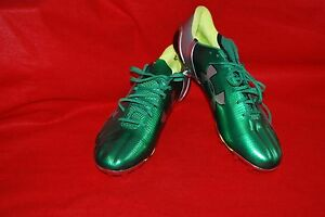 Under Armour Mens SPEEDFORM MC football Cleats 1258013-312 Size 16 Green Silver