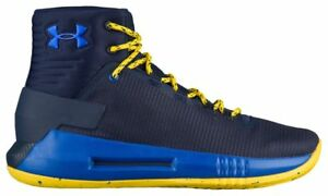 Under Armour Drive 4 Boys' Grade School Midnight NavyTaxiTeam Royal 6004-410