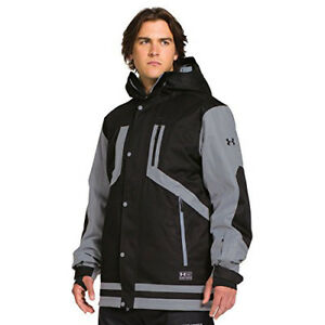 Under Armour UA ColdGear Infrared Fractle Jacket - Mens Black  Black Large Sale