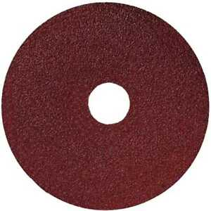 Sait 50025 5x 5quot; x 7 8quot; 100 Grit Resin Fiber Disc for Sanders and Grinders New