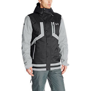 Under Armour Mens Storm ColdGear Infrared Fractle Jacket BlackSteel TAX FREE