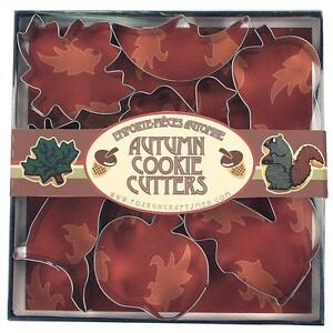 7-PIECE AUTUMN COOKIE CUTTER SET