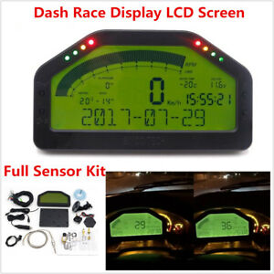 Universal Dash Race Display Bluetooth Full Sensor Kit Dashboard LCD Screen Gauge