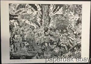 Original 1984 S. Clay Wilson Underground Comic Artist Limited Signed Lithograph $299.99