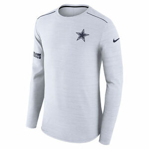 Nike Dri-FIT 2017 NFL Dallas Cowboys Sideline Player Long Sleeve T-Shirt NWT