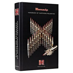 Handbook of Cartridge Reloading Manual 10th Edition Load Data for New Bullets