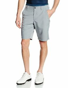 Under Armour Mens Match Play Tapered Shorts SteelTrue Gray Heather 34