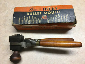 Vintage Lyman Ideal 575213 Bullet Mould With Wooden Handles