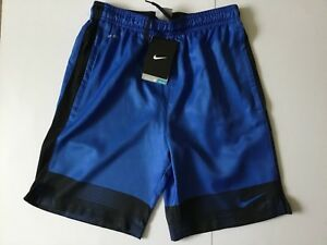 Boys NIKE DRY Football Shorts Dri Fit Size Youth Large 12-13 years