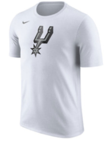 Limited Edition Nike Dri-FIT NBA 2017-2018 San Antonio Spurs Dry Logo T-Shirt