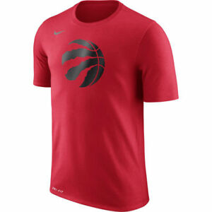 Limited Edition Nike Dri-FIT NBA 2017-2018 Toronto Raptors Dry Logo T-Shirt
