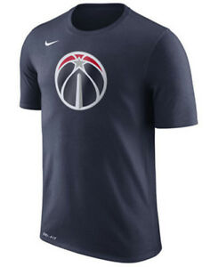 Limited Edition Nike Dri-FIT NBA 2017-2018 Washington Wizards Dry Logo T-Shirt
