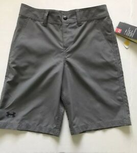 Under Armour boys golf shorts size 12 Youth XL Loose Fit Heat gear