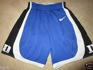 Duke Blue Devils Basketball March Madness ACC Nike Game Shorts XS 34