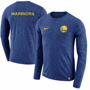 Limited NBA 2017-2018 Nike Dri-FIT Golden State Warriors Facility Long T-Shirt