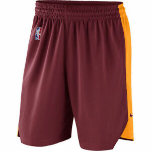 Limited NBA 2017-2018 Nike Dri-FIT Cleveland Cavs Practice Performance Shorts