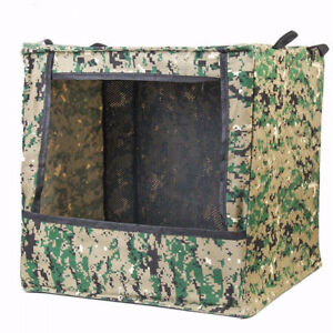 Camouflage Foldable Canvas Hunting Box type Airsoft Shooting Target Case