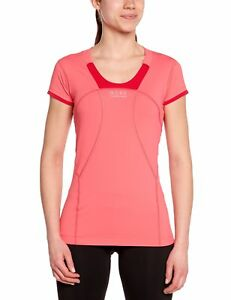 Gore Running Wear Women's Air 2.0 Lady Shirt Coral RedRich Red X-Large