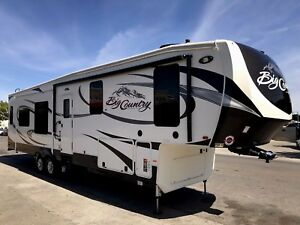 2017 HEARTLAND BIG COUNTRY 3650RL LUXURY FIFTH WHEEL CAMPING TRAILER RV