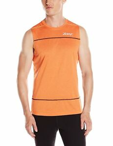 Zoot Performance Run Men's Short-Sleeved Shirt Surfside Sleeveless T-Shirt Men