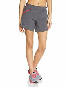 Under Armour Women's Running Trousers almost Fly Shorts Black black Size:XL