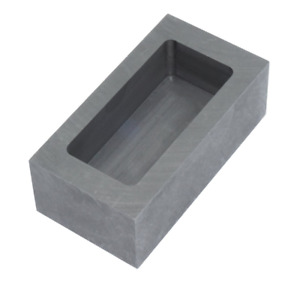 High Purity Refining Graphite Casting Melting Ingot Mold for Gold Silver Metal (