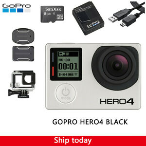 GoPro HERO4 Black 4K Ultra HD Waterproof Camera Camcorder