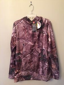 UA UNDER ARMOUR MENS STORM REALTREE CAMO HUNTING HOODIE  NWT Size XLT