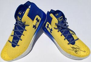 STEPHEN CURRY #30 SIGNED UNDER ARMOUR 3ZER0 BASKETBALL SHOES wJSA WARRIORS