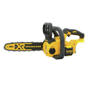 DEWALT DCCS620B 20V MAX Cordless Li Ion 12 in. Compact Chainsaw Tool Only New $130.61