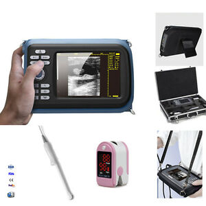 Handheld 5.5'' Digital LCD Monitor Ultrasound Scanner SystemTransvaginal Probe