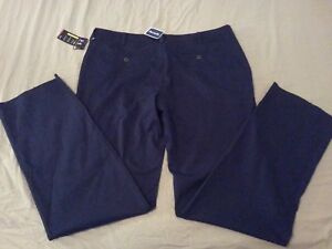 Mens New Under Armour Pants 42x38 Navy Blue Athletic Golf