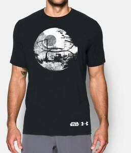 Under Armour Mens Star Wars Death Star Loose Fit T-Shirt WorkoutCasual Tee