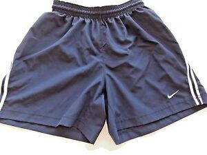 Nike Shorts Children Fit Dry Navy Blue L Large Size 14-16