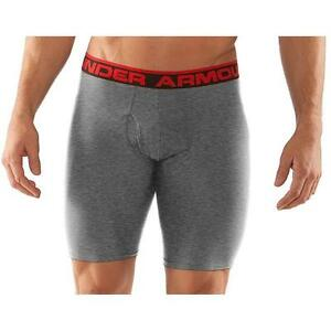 "Under Armour Men's Original Series 9"" Boxerjock Grey Size Small"