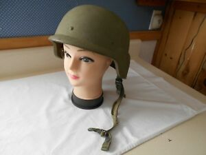 Gentex U.S. Army-issue PASGT Kevlar Helmet Size Large (L-2) w Chinstrap Liner