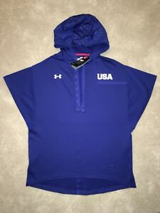 Under Armour Rio Olympics Boxing Hoodie Mens Small USA United States