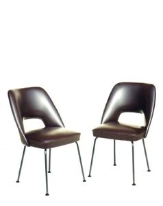 Pair italian armchairs lounge chair  50s design midcentury modernism