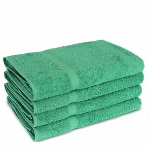New Turkish Luxury Hotel & Spa Towels 100% Cotton Bath Towel Set of 4 30