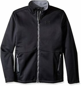 Under Armour Boys Storm Softershell Jacket BlackGraphite Youth X-Large