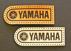 Leather sew on Yamaha Motorcycle Patch GBP 3.95
