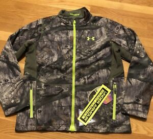 Under Armour Boys Coldgear Infrared Scent Control Hunting Jacket XL Nwt 1259278