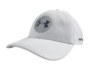 NEW Under Armour Classic Fit Jordan Spieth Light Grey Elevated Tour SM Hat