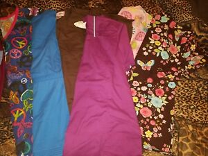 womens scrub sets size small