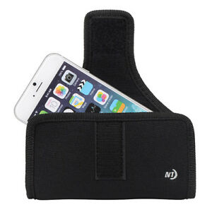 Nite Ize Horizontal Universal Rugged Holster Belt Clip Case fits iPhone 6s 6 SE
