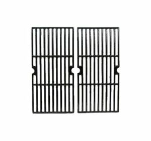 Music City Metals 65022 Gloss Cast Iron Cooking Grid Replacement for Gas Grill