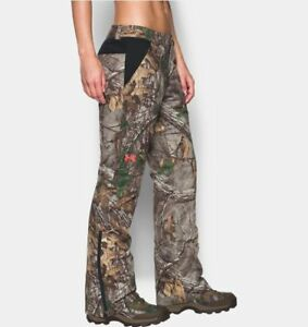 NWT 8 Womens Under Armour Realtree Extreme Siberian Hunting Pants Storm2 RV$240