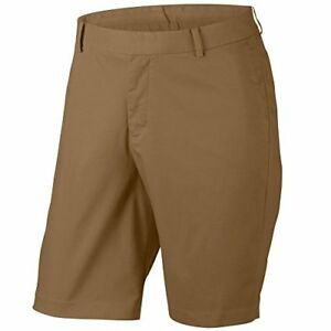 Nike Flex Washed Men's Golf Shorts Golden Beige