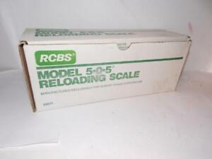 RCBS 5-0-5 RELOADING SCALE-#09071-NEW--OLD STOCK--MADE BY OHAUS CORP